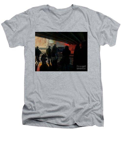 All Lives Matter Men's V-Neck T-Shirt
