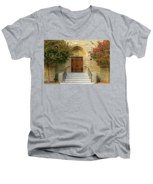 All Saints Church, Pasadena, California Men's V-Neck T-Shirt