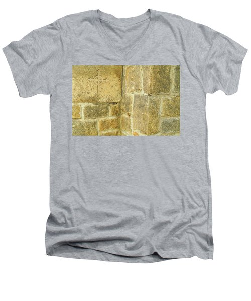 All Saints Episcopal Church, Pasadena, California Men's V-Neck T-Shirt