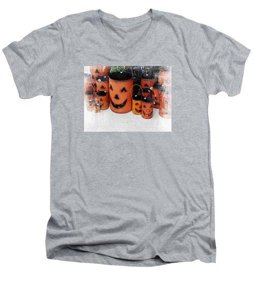 All Smiles Men's V-Neck T-Shirt