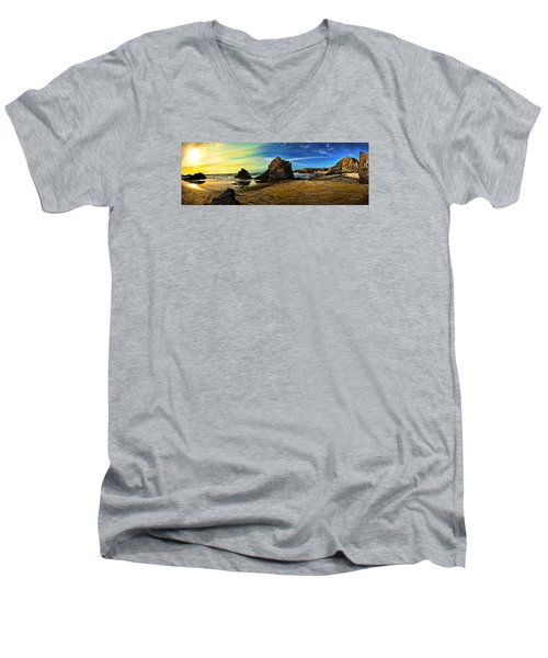 All The Gold In California Men's V-Neck T-Shirt