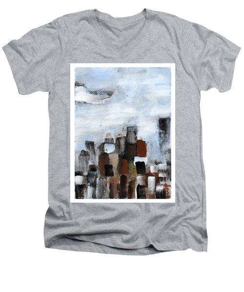 All Together Men's V-Neck T-Shirt