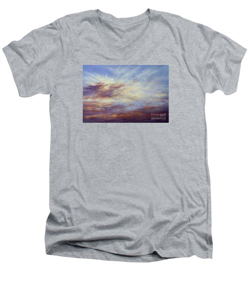 All Too Soon Men's V-Neck T-Shirt by Valerie Travers