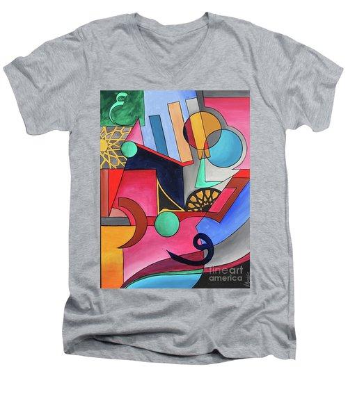 Allah-muhammad Men's V-Neck T-Shirt