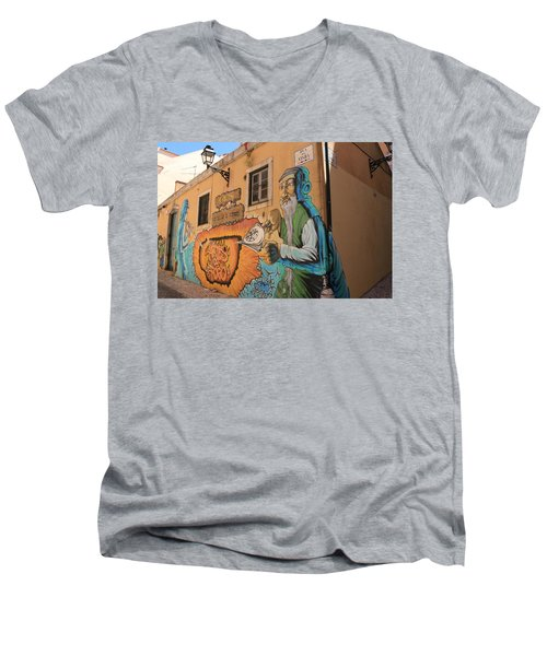 Alley Alchemy Men's V-Neck T-Shirt