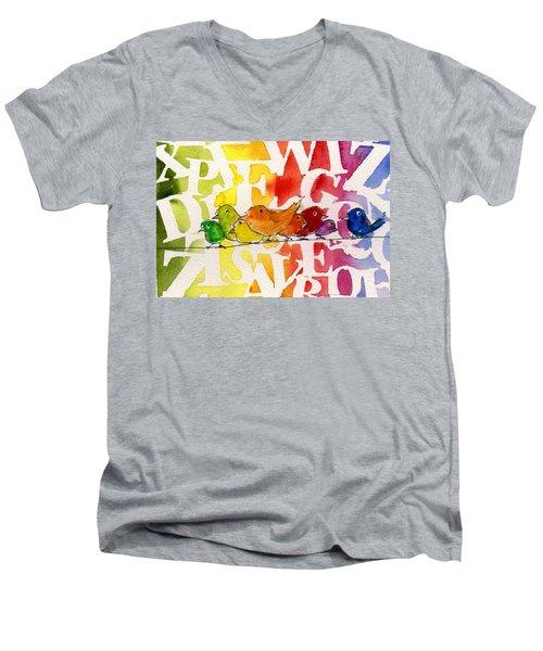 Allphabirds Men's V-Neck T-Shirt