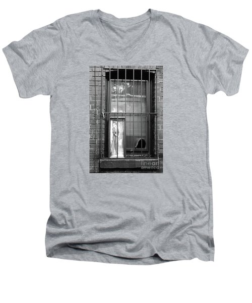 Men's V-Neck T-Shirt featuring the photograph Almost Home by Joe Jake Pratt