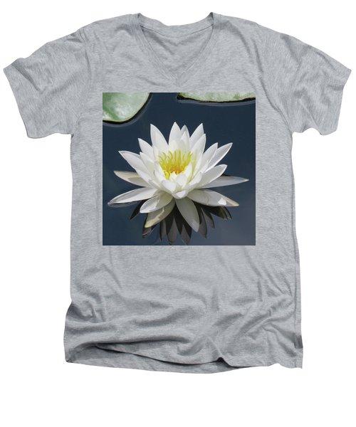 Almost Perfect Men's V-Neck T-Shirt by Rosalie Scanlon