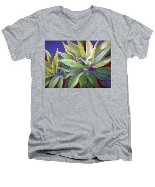 Aloe Plants In Big Sur Men's V-Neck T-Shirt