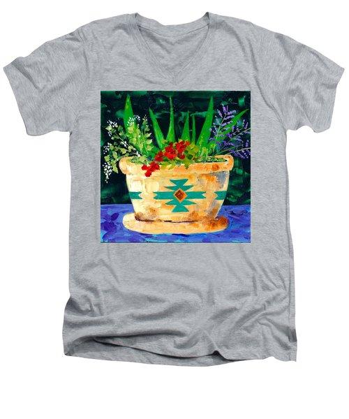 Aloe Vera And Friends  Men's V-Neck T-Shirt