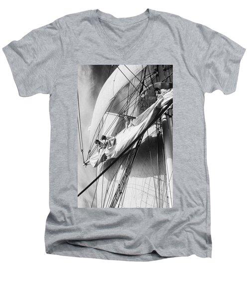 Aloft Men's V-Neck T-Shirt