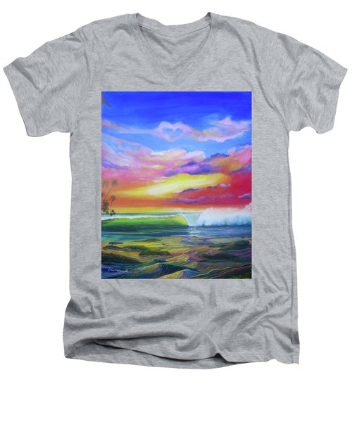 Aloha Reef Men's V-Neck T-Shirt