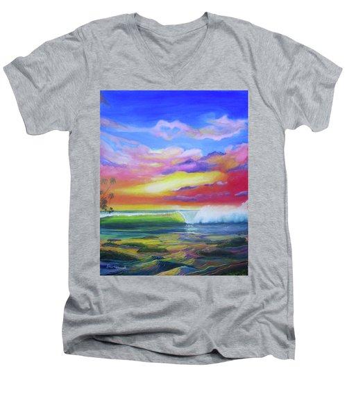 Aloha Reef Men's V-Neck T-Shirt
