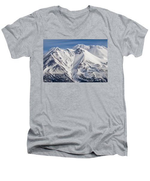 Alone At The Top Men's V-Neck T-Shirt