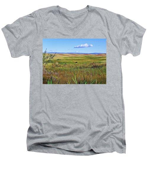 Alone Men's V-Neck T-Shirt