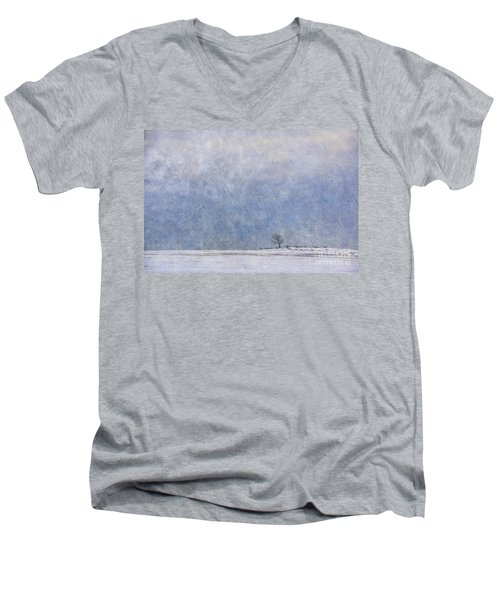 Alone Men's V-Neck T-Shirt by Nicki McManus