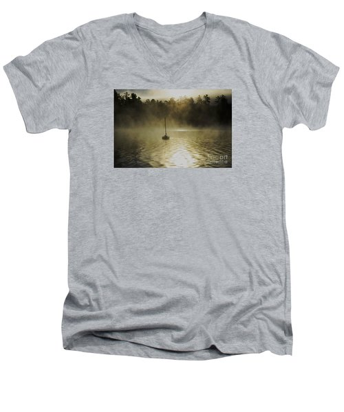 Alone Men's V-Neck T-Shirt by Sherman Perry