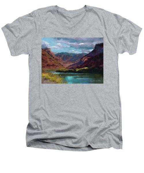 Along The Colorado Men's V-Neck T-Shirt