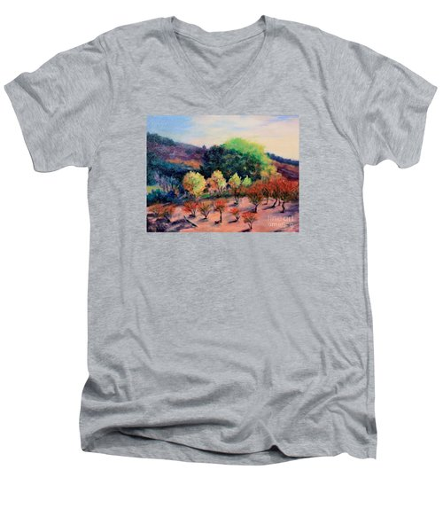 Along The Highway Men's V-Neck T-Shirt