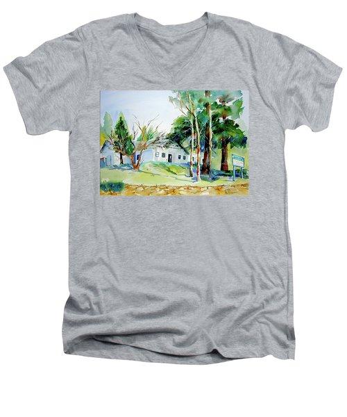 Alta/dutch Flat School Men's V-Neck T-Shirt