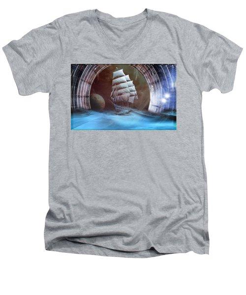 Alternate Perspectives Men's V-Neck T-Shirt
