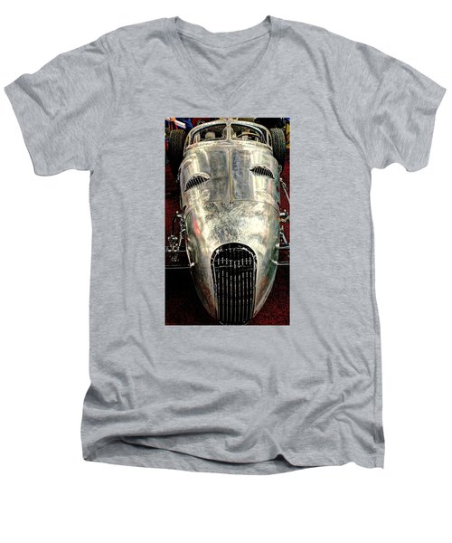 Aluminum Roadster  Men's V-Neck T-Shirt