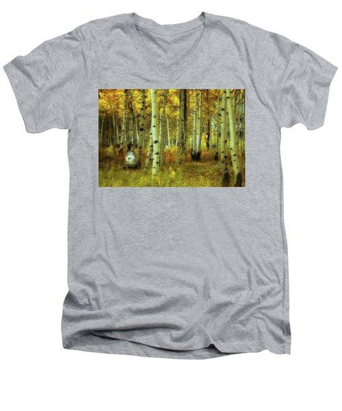 Alvarado Autumn 1 Men's V-Neck T-Shirt