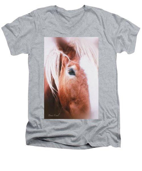 Always Dream Signed Men's V-Neck T-Shirt