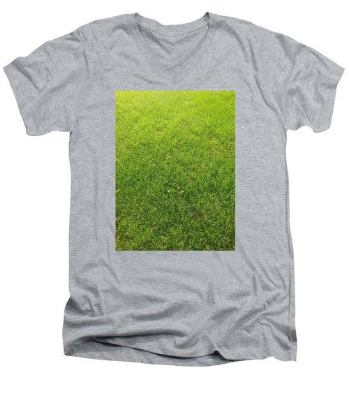 Always Greener Men's V-Neck T-Shirt