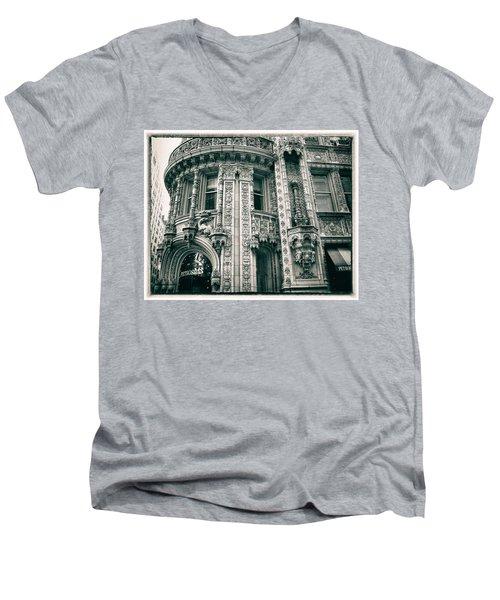 Alwyn Court  Men's V-Neck T-Shirt