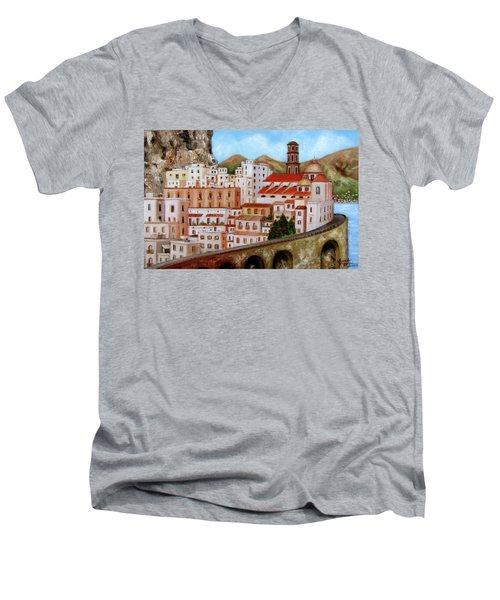 Amalfi Coast Men's V-Neck T-Shirt
