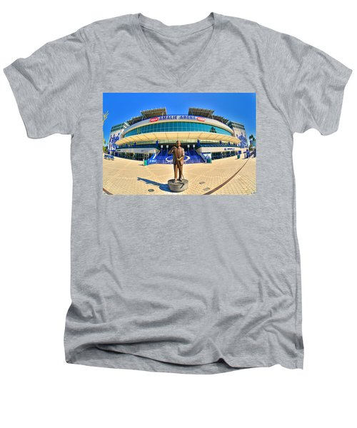 Amalie Arena Men's V-Neck T-Shirt