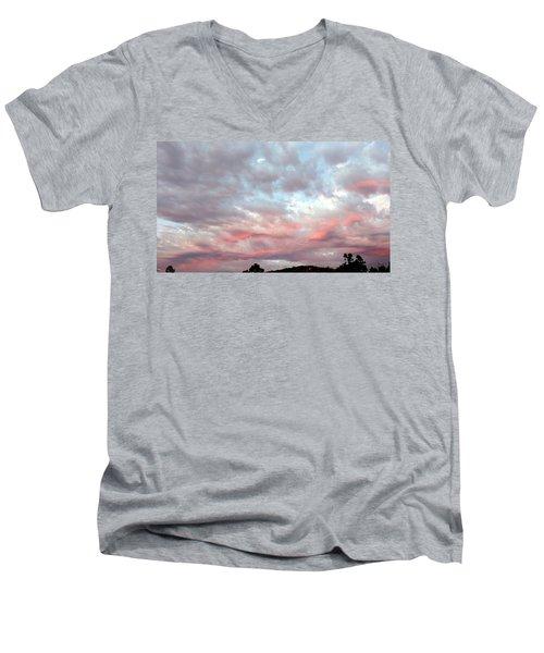 Soft Clouds Men's V-Neck T-Shirt