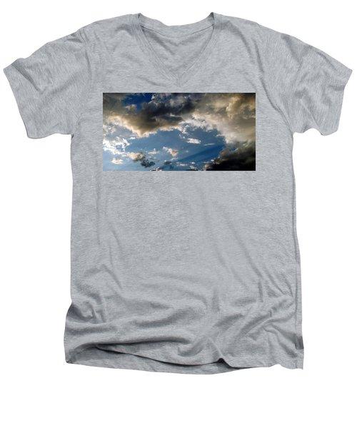 Amazing Sky Photo Men's V-Neck T-Shirt