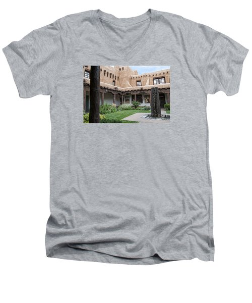 Amazing  Santa Fe Adobe  Men's V-Neck T-Shirt