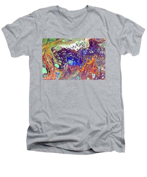 Amber Rave Men's V-Neck T-Shirt