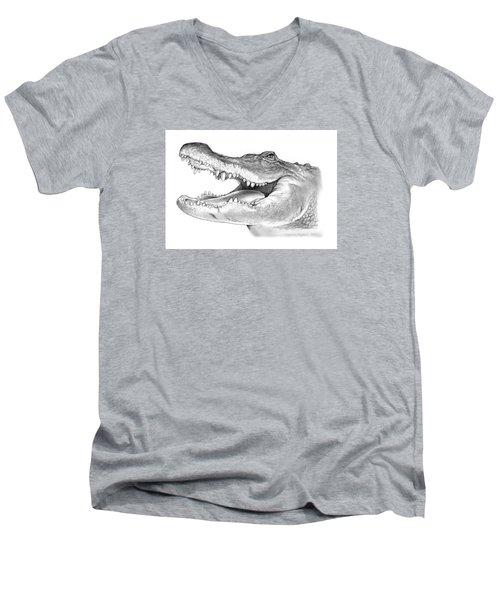 American Alligator Men's V-Neck T-Shirt