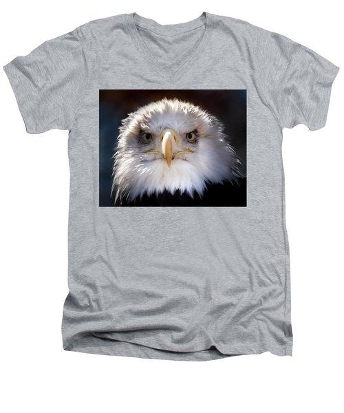 American Bald Eagle  Men's V-Neck T-Shirt