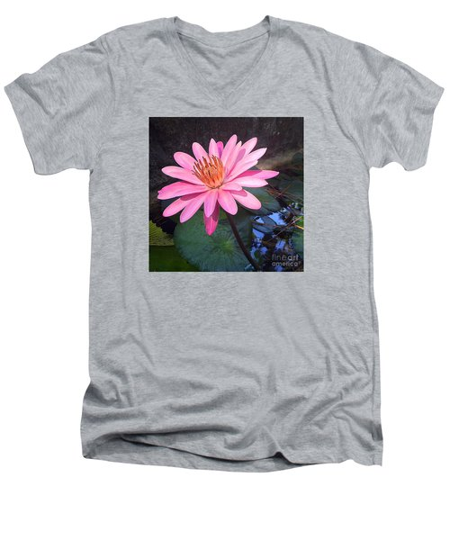 Full Bloom Men's V-Neck T-Shirt
