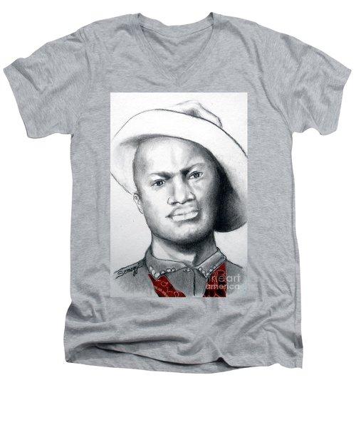 American Cowboy Men's V-Neck T-Shirt