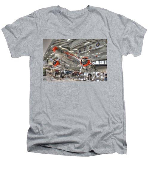 American Men's V-Neck T-Shirt