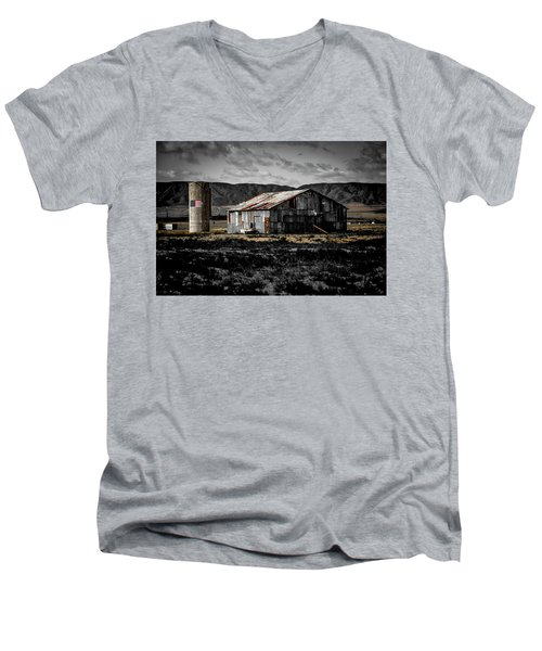 American Cylo - Lancaster, California  Men's V-Neck T-Shirt