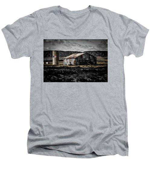 American Cylo - Lancaster, California  Men's V-Neck T-Shirt