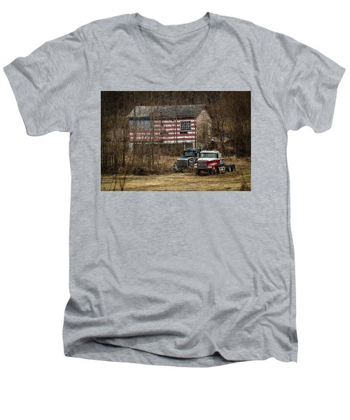 American Dream Men's V-Neck T-Shirt