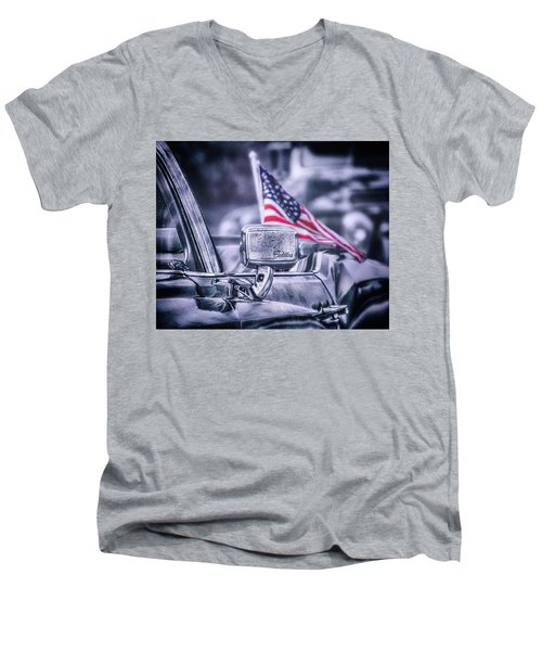 American Friday Men's V-Neck T-Shirt