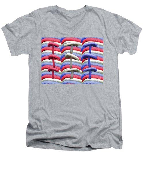 American Mushrooms Men's V-Neck T-Shirt