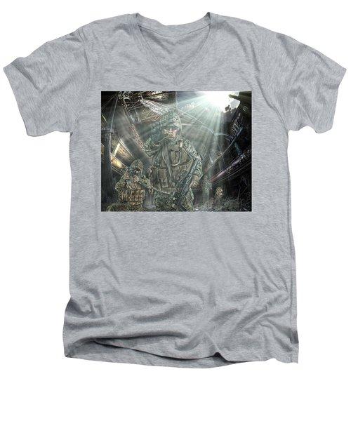 American Patriots Men's V-Neck T-Shirt