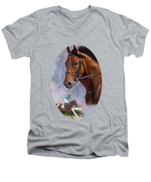 American Pharoah Men's V-Neck T-Shirt