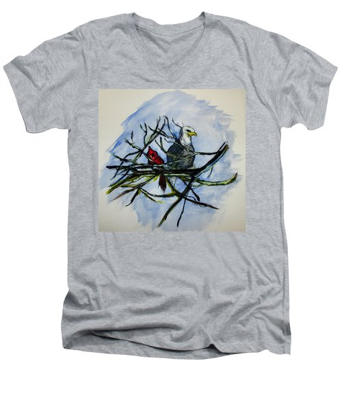 American Picture Men's V-Neck T-Shirt
