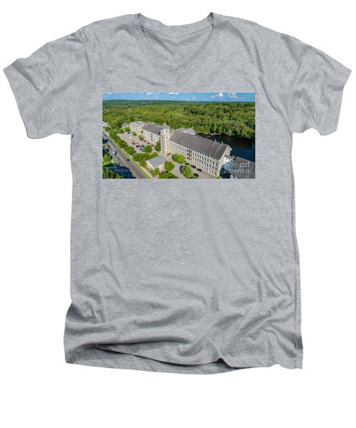 American Thread Mill #2 Men's V-Neck T-Shirt